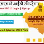 Registration SSOID Rajasthan