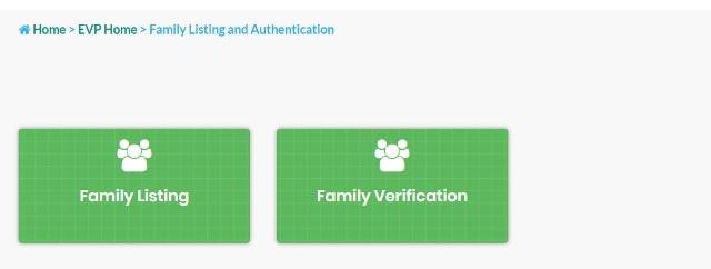 Family Listing under EVP