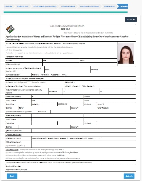 Apply Online For New Voter ID Card 2020