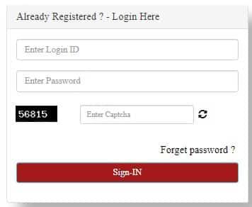 Login MKSY Portal