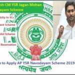 YSR Navodayam Scheme
