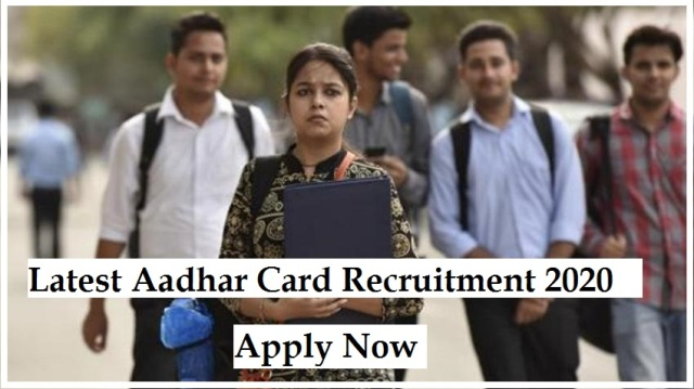 Aadhar Card Recruitment