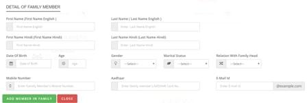 Register under MP Samagra Portal