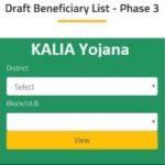 KALIA Yojana Final List