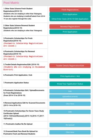 TS ePass Scholarship Scheme