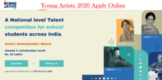Apply Young Artiste