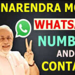 PM Modi Contract Number