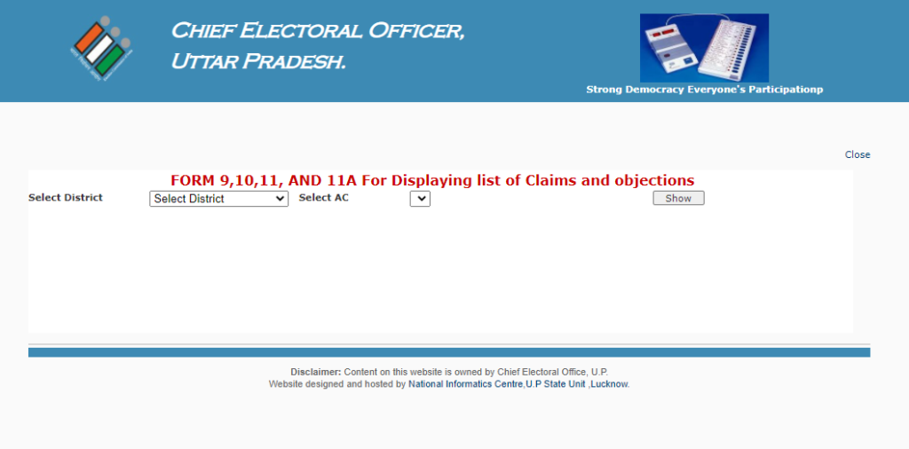 Download Claim & Objection Forms