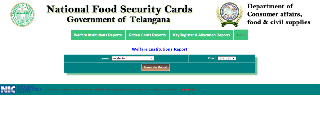 Welfare Institutions Reports